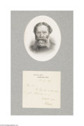 Autographs:Celebrities, James Russell Lowell...