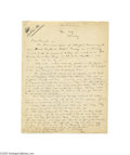 Autographs:Celebrities, Dramatist Maxwell Anderson Autograph Letter Signed...