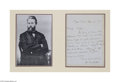 Autographs:Celebrities, Rare Herman Melville 1872 Autograph Letter Signed...