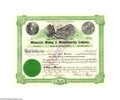 "Autographs:Statesmen, Minnesota Mining & Manufacturing Company Autographed ""3M""Stock..."