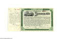 Autographs:Statesmen, William Rockefeller and Henry M. Flagler Standard Oil TrustAutographed Stock...