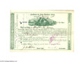 Autographs:Statesmen, Russell Sage Milwaukee & St. Paul Railway Autographed Stock...