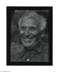 Autographs:Celebrities, Artist Marc Chagall Signed Photo...