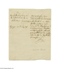 Autographs:Non-American, Charles, Archduke of Austria 1796 Letter Signed...