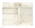 Autographs:Non-American, King Charles II of England Manuscript Document Signed...