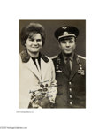 Autographs:Non-American, Soviet Cosmonauts Including Yuri Gagarin, the First Man in Space...