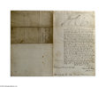 Autographs:Non-American, George IV Document Signed as King of Great Britain...