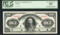 Canadian Currency, DC-20 $1000 3.1.1911 Face Proof PCGS Very Choice New 64.. ...