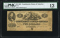Confederate Notes:1861 Issues, T38 $2 1861 PF-1 Cr. 286 PMG Fine 12.. ...