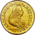 Colombia, Colombia: Charles III gold 8 Escudos 1771 PN-J AU50 PCGS,...
