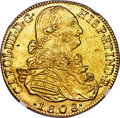 Colombia, Colombia: Charles IV gold 8 Escudos 1808 NR-JJ MS63 NGC,...