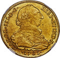 Colombia, Colombia: Charles III gold 8 Escudos 1781 NR-JJ MS61 NGC,...