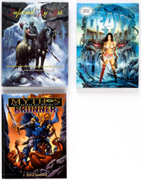Bill Sienkiewicz, Olivia, and Others - Fantasy Art Books Group of 3 (Various Publishers, 1997-2013).... (Total: 3 Items)