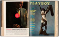 Magazines:Miscellaneous, Playboy 1961 Complete Year Bound Volume Group of 2 (HMH Publishing, 1961).... (Total: 2 )