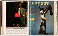 Playboy 1961 Complete Year Bound Volume Group of 2 (HMH Publishing, 1961).... (Total: 2 )