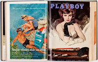 Playboy Complete Year 1962 Bound Volume Group of 2 (HMH Publishing, 1962)