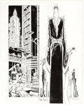 Original Comic Art:Splash Pages, Michael T. Gilbert and P. Craig Russell Elric #1 Splash Page19 Original Art (Pacific Comics, 1983)....