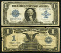 Large Size:Group Lots, Fr. 233 $1 1899 Silver Certificate Very Good;. Fr. 237 $1 1923 Silver Certificate Very Good.. ... (Total: 2 notes)