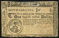 Colonial Notes:South Carolina, South Carolina December 23, 1776 $1 Very Good-Fine.. ...