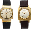 Timepieces:Wristwatch, Two Rare Hamilton Electric Wristwatches, 10K Yellow Gold FilledPegasus and Rolled Gold Plate Spectra II, Circa 1963-1965. ...(Total: 2 Items)