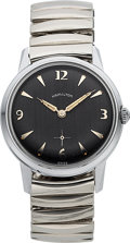 Timepieces:Wristwatch, Hamilton, Sea-Scout, Chrome and Stainless Steel, Manual Wi...