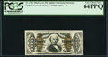 Fractional Currency:Third Issue, Fr. 1342 50¢ Third Issue Spinner Type II PCGS Very Choice New 64PPQ.. ...