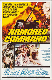 "Armored Command & Others Lot (Allied Artists, 1961). Folded, Very Fine-. One Sheets (3) (27"" X 41""), Lobby..."