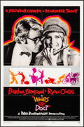 """Movie Posters:Comedy, What's Up, Doc? (Warner Brothers, 1972). Folded, Fine+. One Sheets (3) (27"""" X 41"""") Three Styles, Lobby Card Set of 8 (11"""" X ... (Total: 15 Items)"""