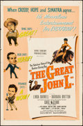 """Movie Posters:Sports, The Great John L. (United Artists, 1945). Folded, Fine. One Sheet (27"""" X 41""""). Sports.. ..."""