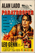 "Movie Posters:War, Paratrooper (Columbia, 1953). Folded, Fine/Very Fine. One Sheet (27"" X 41""). War.. ..."