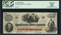 Confederate Notes:1862 Issues, T41 $100 1862 PF-5 Cr. 315 PCGS Apparent About New 53.. ...