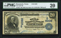 National Bank Notes:Texas, Beaumont, TX - $20 1902 Date Back Fr. 642 The Gulf NB Ch. # (S)6338 PMG Very Fine 20.. ...