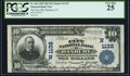 National Bank Notes:Connecticut, Danbury, CT - $10 1902 Plain Back Fr. 624 The City NB Ch. # (N)1132 PCGS Very Fine 25.. ...