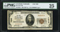 National Bank Notes:Colorado, Loveland, CO - $20 1929 Ty. 1 The First NB Ch. # 7648 PMG Very Fine 25.. ...