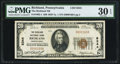 National Bank Notes:Pennsylvania, Richland, PA - $20 1929 Ty. 1 The Richland NB Ch. # 8344 PMG Very Fine 30 EPQ.. ...