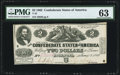 Confederate Notes:1862 Issues, T42 $2 1862 PF-5 Cr. 337 PMG Choice Uncirculated 63.. ...