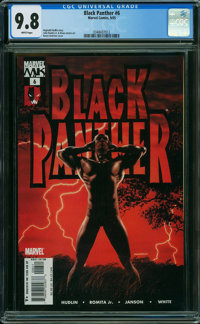 Black Panther #6 (Marvel, 2005) CGC NM/MT 9.8 WHITE pages