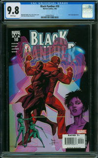 Black Panther #10 (Marvel, 2006) CGC NM/MT 9.8 WHITE pages