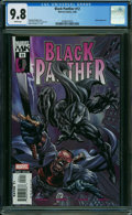 Modern Age (1980-Present):Superhero, Black Panther #12 (Marvel, 2006) CGC NM/MT 9.8 WHITE pages.