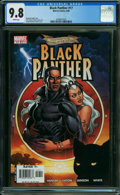 Modern Age (1980-Present):Superhero, Black Panther #17 (Marvel, 2006) CGC NM/MT 9.8 WHITE pages.
