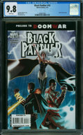 Modern Age (1980-Present):Superhero, Black Panther #10 (Marvel, 2006) CGC NM/MT 9.8 WHITE pages.