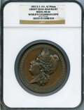 Expositions and Fairs, 1893 World's Columbian Exposition, 1892 Liberty Head, High Relief, MS66 NGC. Eglit-101. Bronze, 90 mm....