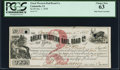 Obsoletes By State:Iowa, Camanche, IA- Great Western Rail Road Co. $2 Jan. 1, 1858 Oakes 19-2 (2015) PCGS Choice New 63.. ...