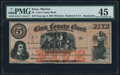 Obsoletes By State:Iowa, Marion, IA- Linn County Bank of Winslow, Stephens & Co. $5 Apr. 5, 1861 Remainder Oakes 93-3 (2015) PMG Choice Extremely F...