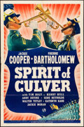 "Movie Posters:Elvis Presley, The Spirit of Culver (Universal, 1939). Folded, Fine/Very Fine. OneSheet (27"" X 41""). Elvis Presley.. ..."