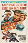 """Movie Posters:Western, The Naked Spur (MGM, 1953). Folded, Fine/Very Fine. One Sheet (27""""X 41""""). Western.. ..."""