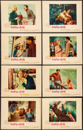 "Movie Posters:Drama, Baby Doll (Warner Bros., 1957). Fine/Very Fine. Lobby Card Set of 8 (11"" X 14""). Drama.. ... (Total: 8 Items)"