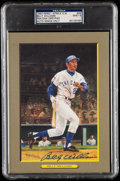 Autographs:Post Cards, 1990 #69 Billy Williams Signed Perez-Steele Great Moments, PSA/DNA MT 9....