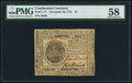 Colonial Notes:Continental Congress Issues, Continental Currency November 29, 1775 $7 PMG Choice About Unc 58.. ...