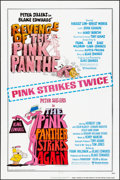 Movie Posters:Comedy, Revenge of the Pink Panther/The Pink Panther Strikes Again Combo & Others Lot (United Artists, 1978). Folded, Very Fine. One... (Total: 3 Items)
